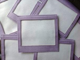 Lilac Armband for Dog Show Numbers